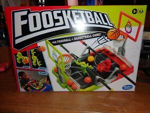 Hasbro Foosketball Game Table Top The Foosball and Basketball Game 8 and up