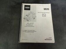 Tennant M20 Sweeper Service Manual Information Manual   331385
