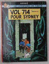 Tintin Vol 714 Pour Sydney EO B37 1er tirage 1968 Proche Neuf Hergé
