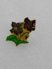 Floral - Flower Hat-Lapel-Pin