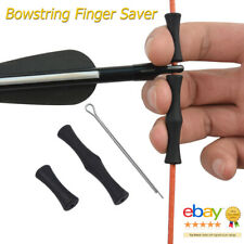 1pc Leather Thumb Finger Guard Ring Adjustable Protector Archery HuntiX1F