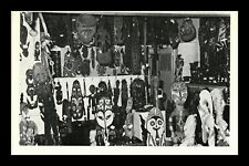 DR JIM STAMPS NEW GUINEA PRIMITIVE ART EXHIBITION STORE TOPICAL CARD