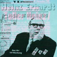 HEINZ ERHARDT - DA GIBT'S GAR NICHTS ZU LACHEN 2 CD  45 TRACKS COMEDY  NEU