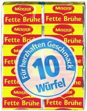 3 packs = 30 cubes Maggi Fette Bruhe Fats broth original from Germany New