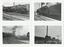 PHOTO  Lot of  8 - Canadian National CN Railroad Orig 1950 Snapshots Trains etc