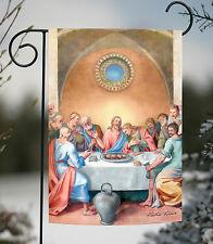 NEW Toland - Last Supper - Jesus Christ Disciples Meal Christian Garden Flag