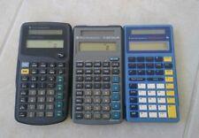 (3) Texas Instruments Scientific Calculators Vintage 90s Ti Math School