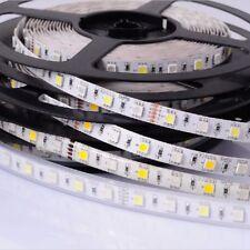 5m 12V LED Stripe RGBW Kalt Weiß Streifen SMD5050 dimmbar RGB+W IP65 Wasserdicht