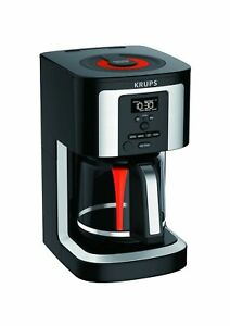 KRUPS, EC322, 14-Cup Programmable Coffee Maker, Professional Permanent Gold-T...