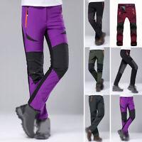 Winter Men/women Ski Warm Cargo Waterproof Skiing Snowboard Snow Trousers Pants