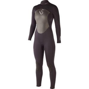 XCEL 3/2 Offset ZIPPER Zip FULL SUIT Neoprene WETSUIT Surf WOMENS sz 10 Short 14