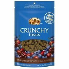 Nutro Crunchy Dog Treats With Real Mixed Berries 10 Ounce Bag