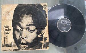 "Fela Ransome-Kuti And His Africa '70 ""Fela's London Scene"" 1971 Afrobeat LP HMV"