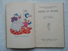 JOAN G ROBINSON SUSIE AT HOME H/B 1957 B/W LINE DRAWINGS ILLUSTRATIONS BY AUTHOR