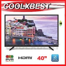 "AKAI 40"" FULL HD DIGITAL LED TV & DVD COMBO USB RECORD MEDIA PLAYER 3x HDMI"