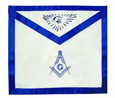 Masonic Aprons Master Mason Blue Lodge. Stencil Compass Square Seeing Eye
