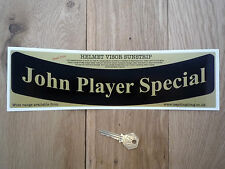 John Player Special Casco Visor sunstrip pegatina Carrera rallycar Racing Jps Lotus