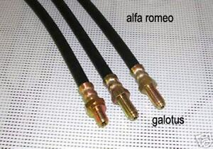 ALFA ROMEO 1900 1950/59's front/rear brake hoses set 3 PIECES NEW RECENTLY MADE