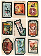 1975 Topps Wacky Packages 14th Series 14 Tan Back TB Complete Set 30/30 EX+