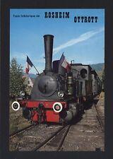 █ CPM Train Folklorique de ROSHEIM a OTTROTT / Locomotive Borsig T3 année 1906 █