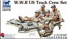 BRONCO CB35159 1/35 WWII US Truck Crew Set5 PDR Anti-Tank Gun Crew Set