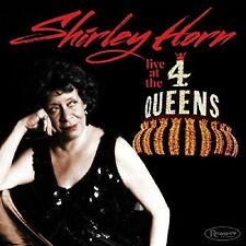 Shirley Horn-Live at the 4 Queens Live maggio 1988 Hotel di Las Vegas CD NUOVO