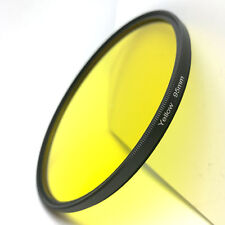 95mm Yellow Full Color Lens Filter For DSLR Canon Sony Nikon Olympus Pentax Cam