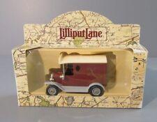 "1995 Lilliput Lane ""Tenth Anniversary"" Die-Cast Ford Box Truck"