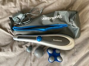 Brookstone Cordless Active Sport Massager - lightly used with all original parts
