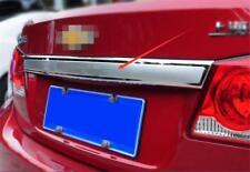 For Chevrolet Cruze 2009-2015 Chrome Trunk Lid/Handle Garnish Molding Trim Cover
