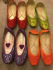 Indian Shoes Kuseh Size 4 And Indian Size 38