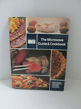 Vintage The Microwave Guide & Cookbook 1980 General Electric Hardcover