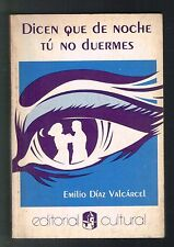 Emilio Diaz Valcarcel Dicen Que De Noche Tu No Duermes Novela Puerto Rico 1985
