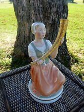 """Royal Copenhagen #12242 Holger Christensen """"Girl with the Golden Horn"""" Figurine"""