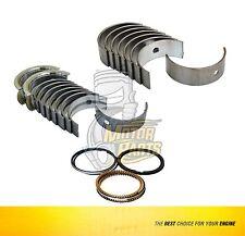 Bearings & Piston Rings Fits 06-09 Chevrolet Fiat Astra Zafira 1.8 L DOHC X18XE1