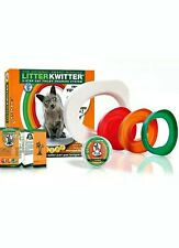 Litter Training system 3 Step Cat Teach Kitty to Use Toilet with Dvd Kwitter