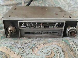 autoradio voxson stereo 8 vintage anni 60