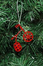 Vintage, Antique Looking Tricycle, Velocipede Christmas Ornament