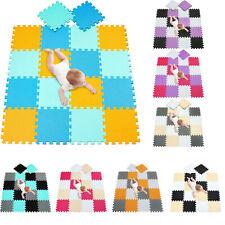30 piezas de Enclavamiento Eva Estera de Espuma Suave Niños Juego Azulejos Bebés Manta Gimnasio Fitness.