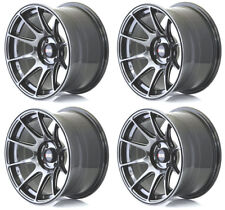 "XXR 527 16"" X 8.25J 5x114/100 Noir Chrome Massif Large jantes alliages Wheels Z1920"