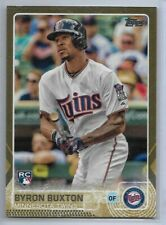 2015 Topps Update Byron Buxton Gold Parallel Rookie /2015 Minnesota Twins