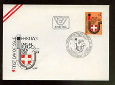 Austria 1981 de larga distancia Calor distributer Fdc # 209