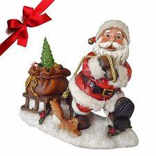 Weihnachtsmann Happy Dekofiguren Weihnachtsdekoration Nikolausfiguren Dekoration