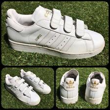 Adidas Campus Velcro Leather, Sz UK 7, US 7.5, EU 40, Rare, Originals, Vintage,