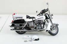 Franklin Mint Harley Davidson POLICE EDITION Motorcycle 1:10 Scale w/Accessories