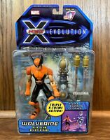 Wolverine Vintage X-Men Evolution Cartoon Action Figure New 2001 Toybiz Marvel