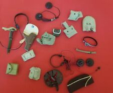 1/6 IMPERFECT WW2 EQUIPMENT LOT MIXED DIFFERENT ARMIES.