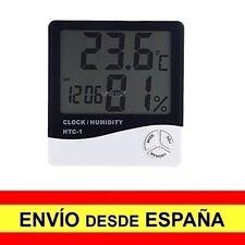 Termometro Digital Interior / Exterior con LCD Hora, Temperatura, Humedad a3277