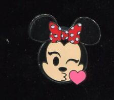 Emoji Blitz Minnie Booster Kiss Disney Pin 122051