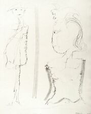 GERHARD ALTENBOURG - Abschied auf der Schwelle - Lithografie 1971